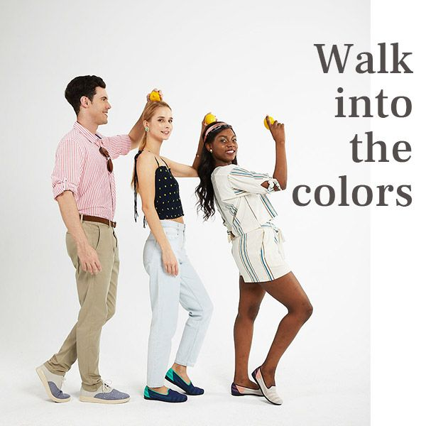Walk into the colors