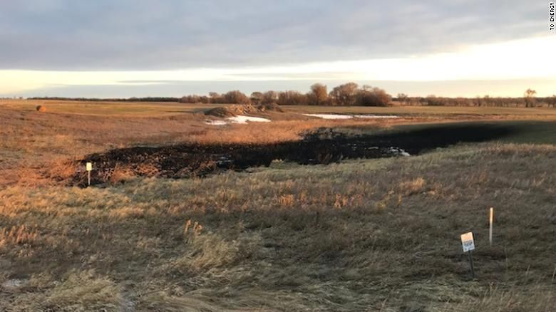 The latest Keystone Pipeline oil leak is almost 10 times worse than initially thought
